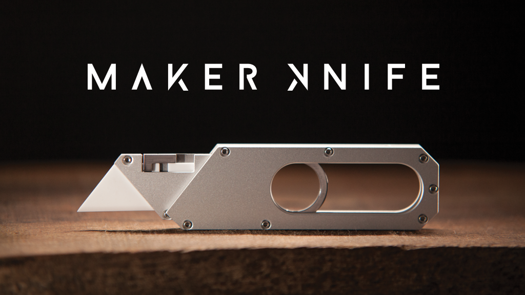 Maker Knife | The EDC Pocket Tool You Want to Carry project video thumbnail