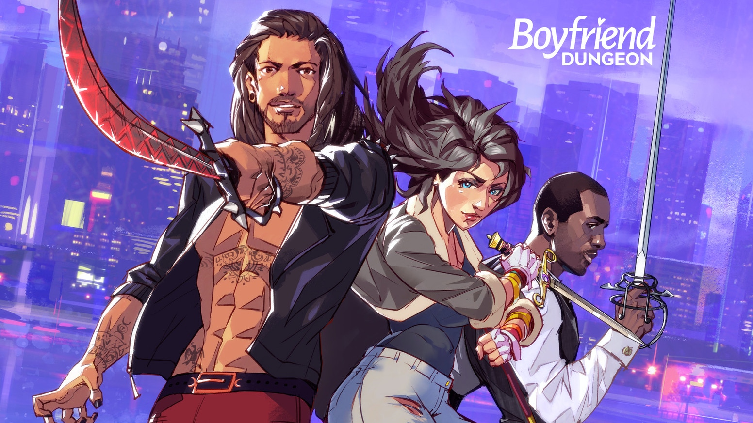 Boyfriend Dungeon: Date Your Weapons! by Kitfox Games — Kickstarter