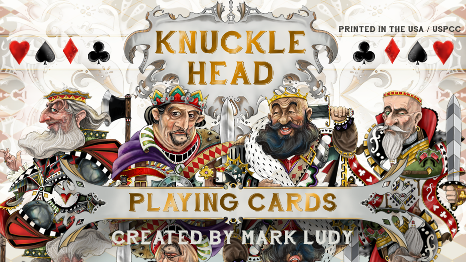 Knuckle Head Playing Cards