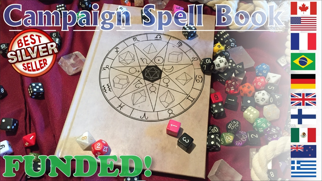 Campaign Spell Book and Campaign Notebook project video thumbnail