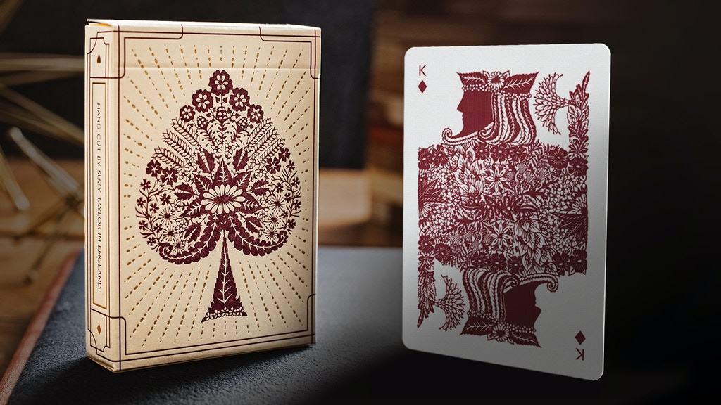 Papercuts: Intricate Hand-cut Playing Cards by Suzy Taylor project video thumbnail