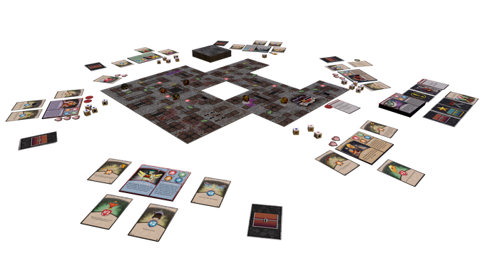 This is a basic setup of what the game could look like.