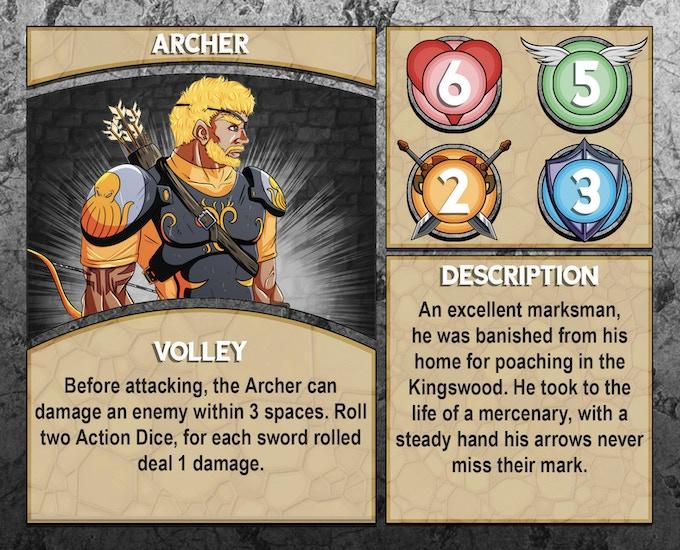 Dungeon Runner: Archer