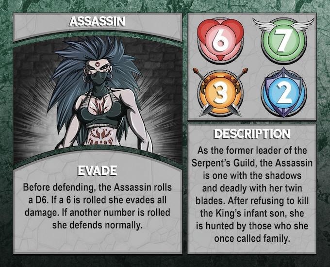 Dungeon Runner: Assassin