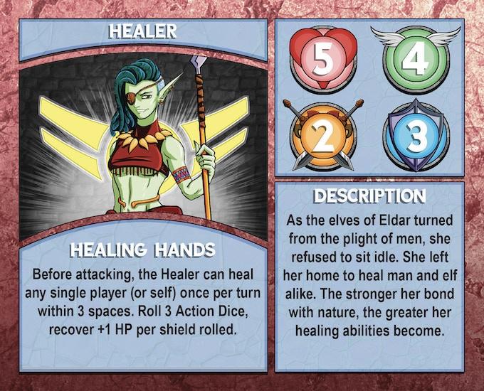 Dungeon Runner: Healer