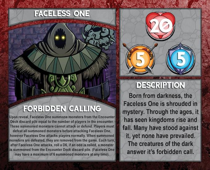Dungeon Boss: Faceless One