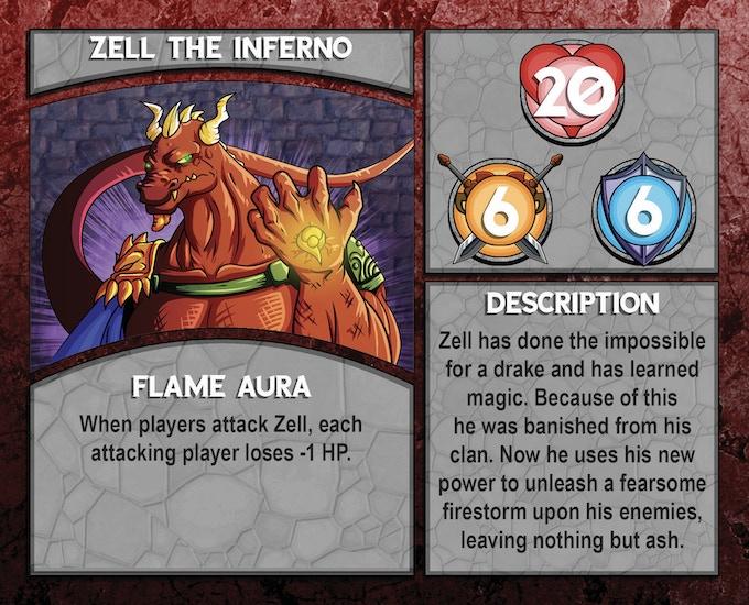 Dungeon Boss: Zell The Inferno