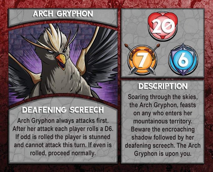 Dungeon Boss: Arch Gryphon
