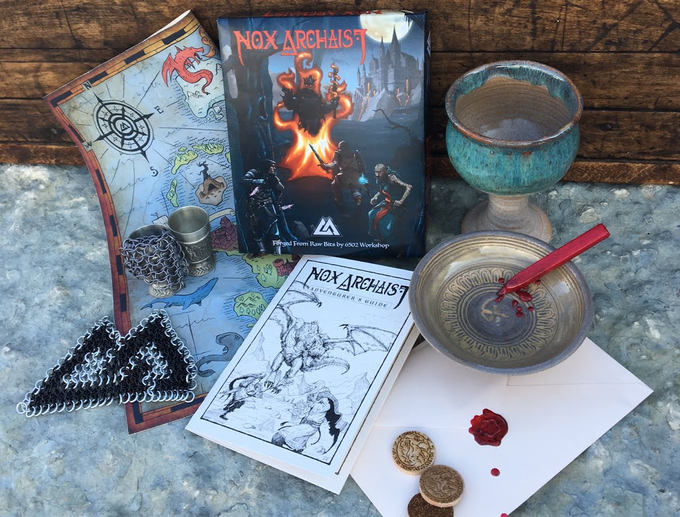 Some of the cool items available with Nox Archaist!