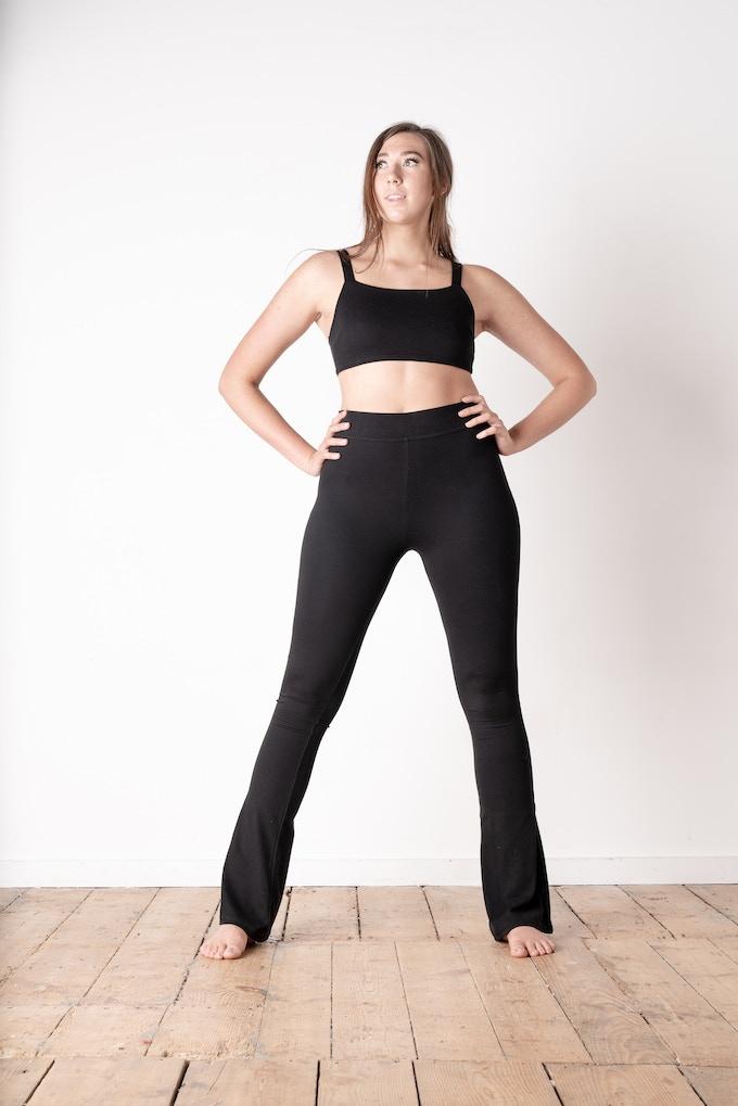 3 Strap Vest | Bootcut leggings