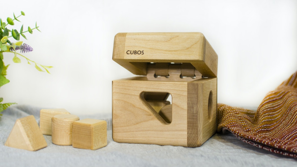 CUBOS-lite - 0% plastic, 100% natural. Made in Canada. project video thumbnail