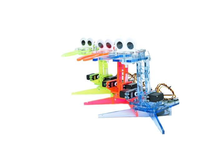 mimicArm Robots in Blue, Green, and Orange