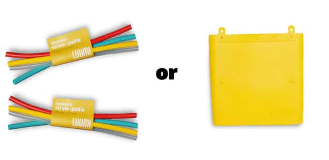 8 straws or 1 lunch bag, each of these items is 17.50