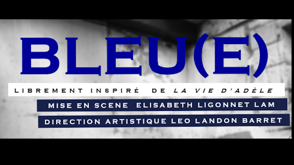 "BLEU(e) is a free adaptation of  ""Blue is the Warmest Colour"" in which the male gaze is removed from the two heroines' romance."