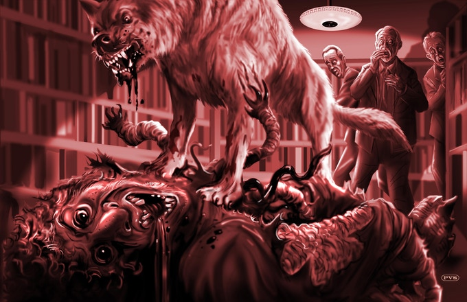 The demise of Wilbur Whateley