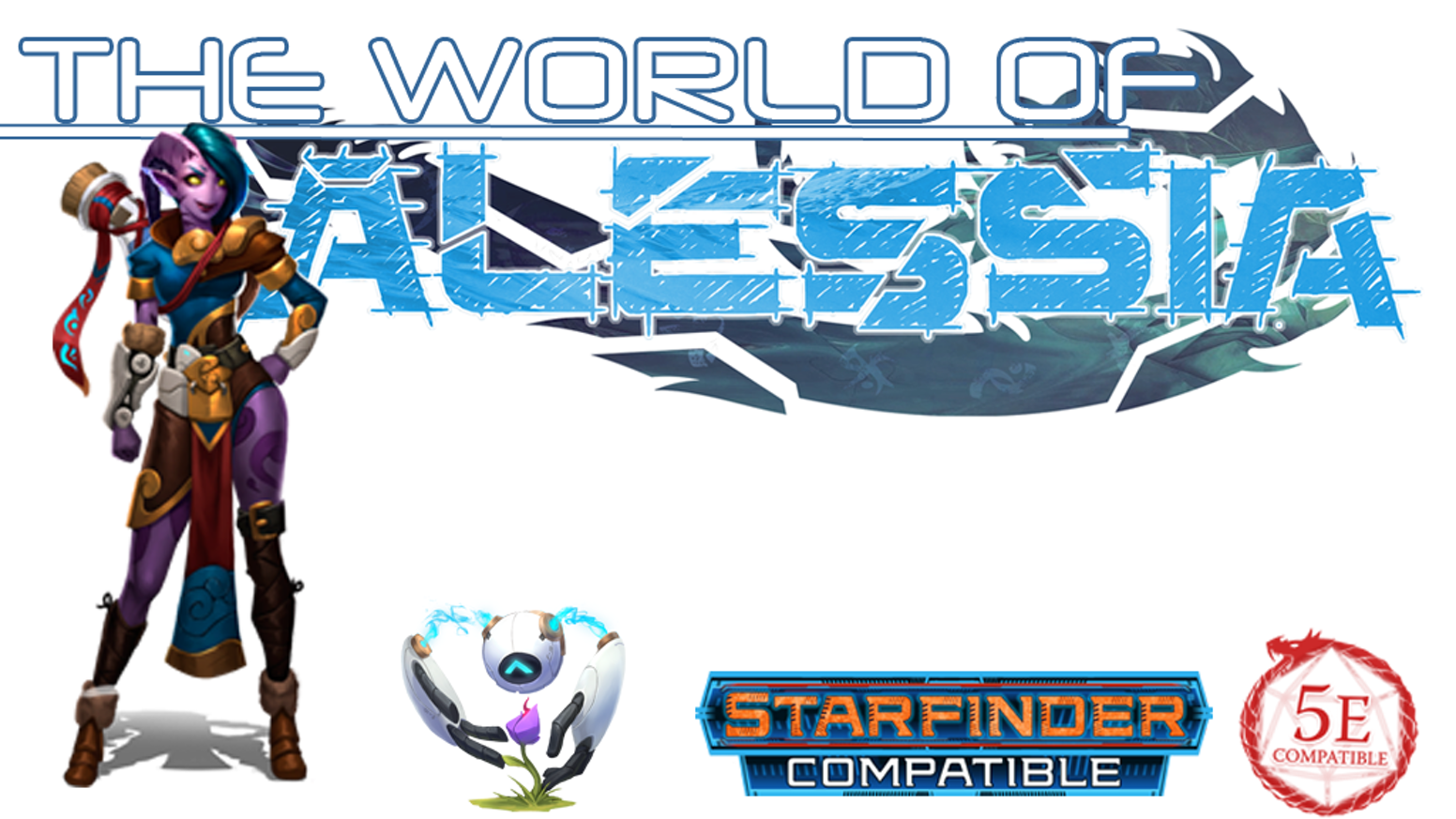 World of Alessia Campaign Primer for 5e D&D & Starfinder by Jaye