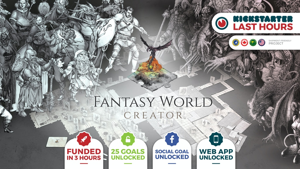 Fantasy World Creator project video thumbnail