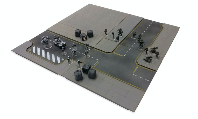 Please note - Prices do not include shipping. shipping will be added after in the pledge manager. Miniatures and Crates not included