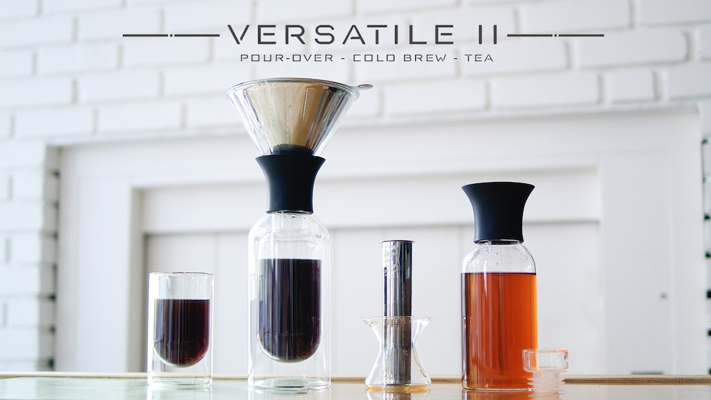 VERSATILE II: the 1st multi filter coffee brewer & tea maker is the top crowdfunding project launched today. VERSATILE II: the 1st multi filter coffee brewer & tea maker raised over $800 from 0 backers. Other top projects include The San. Can, Making algebra easy, ...
