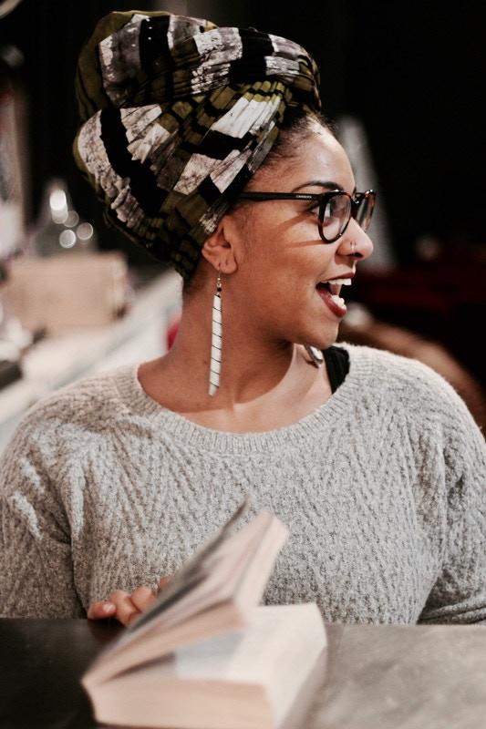 Pamela Ohene-Nyako, founder of Afrolitt'. Photo by Ashley Moponda.