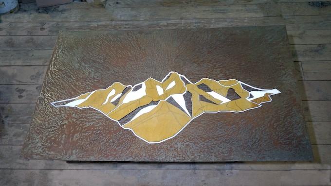 The Grand Teton from Lake Solitude