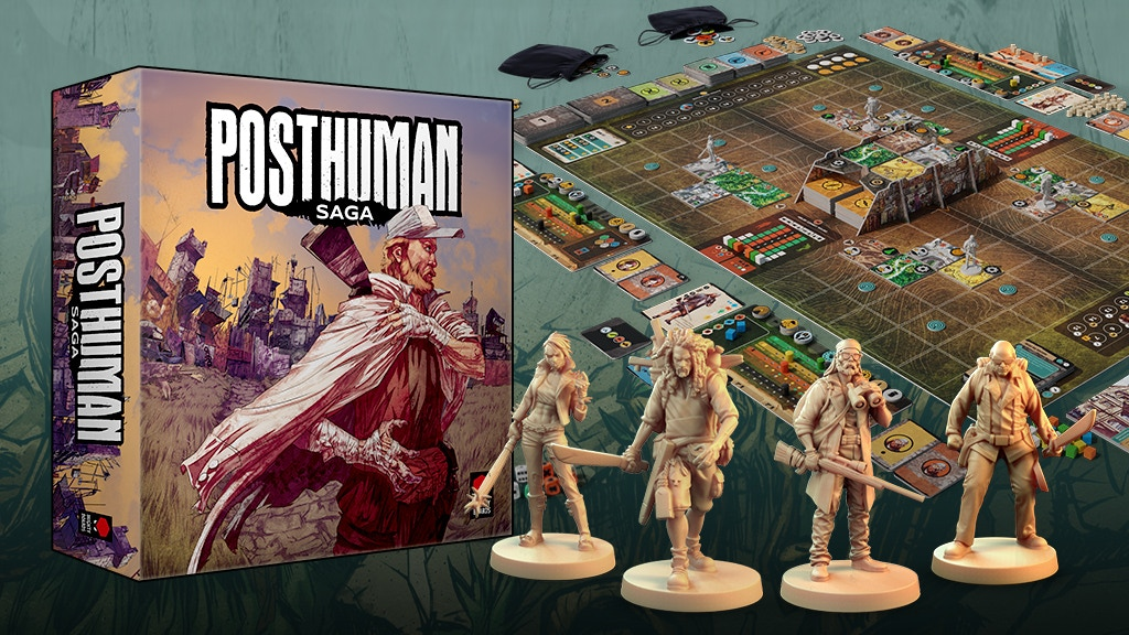 Posthuman Saga project video thumbnail