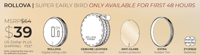 The Super early bird only available in the first 48 hours!