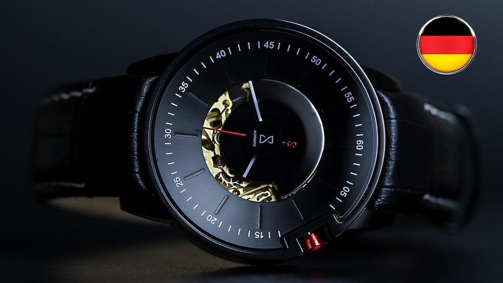MOTION V2 - A unique German Made Designer Watch
