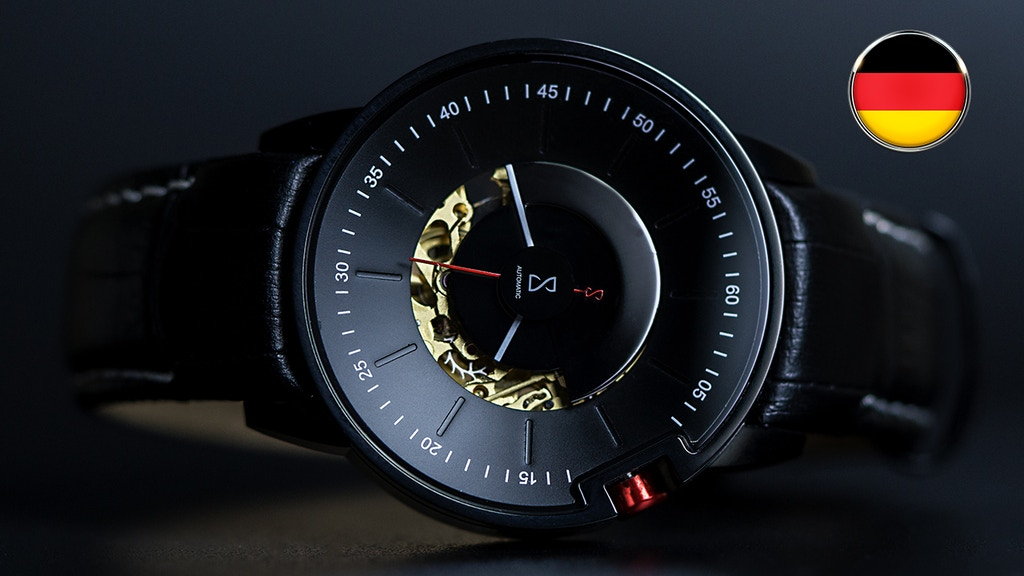MOTION V2 - A unique German Made Designer Watch (Canceled)