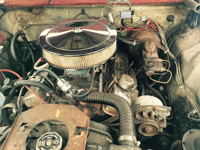 They don't make 'em like this anymore...the Checker's stalwart engine