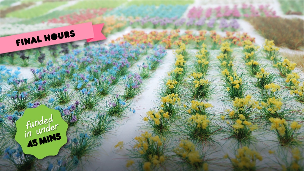 Scenic Grass Tufts and Flowers project video thumbnail