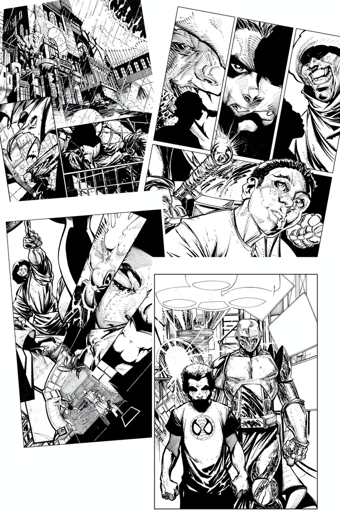 Various pages of Inks from Issue #1