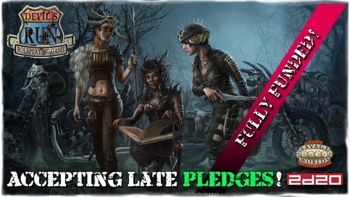 Post-apocalyptic roleplaying in a seductively Savage World of motoring mayhem. Choose a side. Fight. Survive.