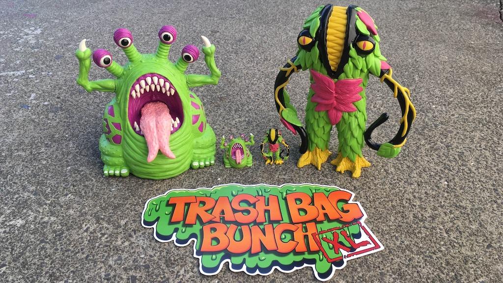 Trash Bag Bunch XL vinyl art toys project video thumbnail