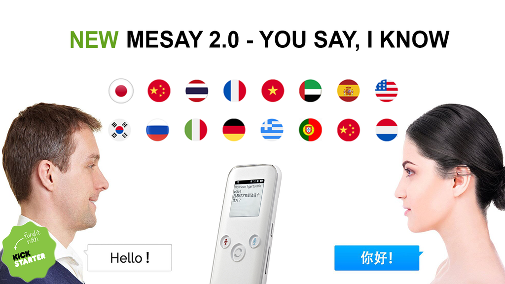 MESAY 2.0 - The Ultimate Two-way AI Translator