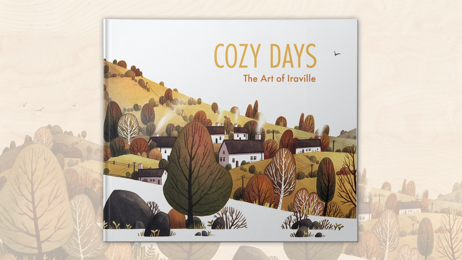A collection of Iraville's best artwork in a beautifully presented hardback art book.