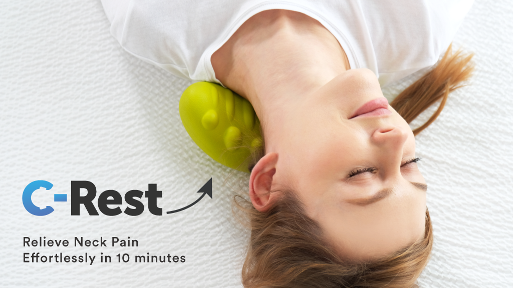 Relieve Neck Pain Effortlessly in 10 minutes w/ C-Rest v2.0