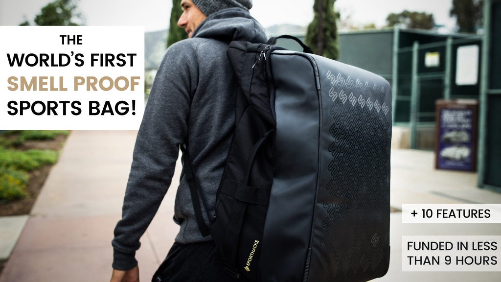 SportHacks Bag | The most functional sports bag ever! Project-Video-Thumbnail
