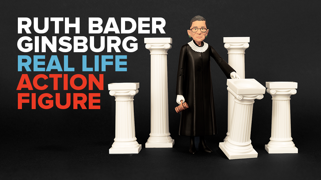 Ruth Bader Ginsburg Action Figure project video thumbnail