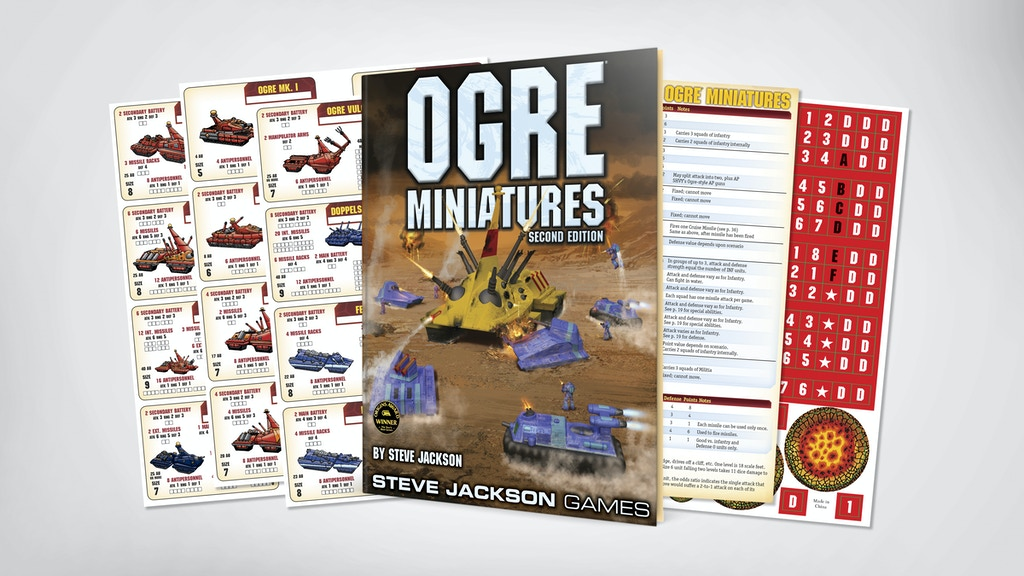 Ogre Miniatures Second Edition Rulebook project video thumbnail