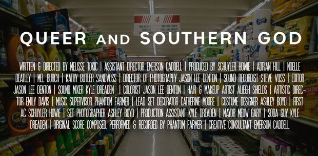 Queer and Southern God credits