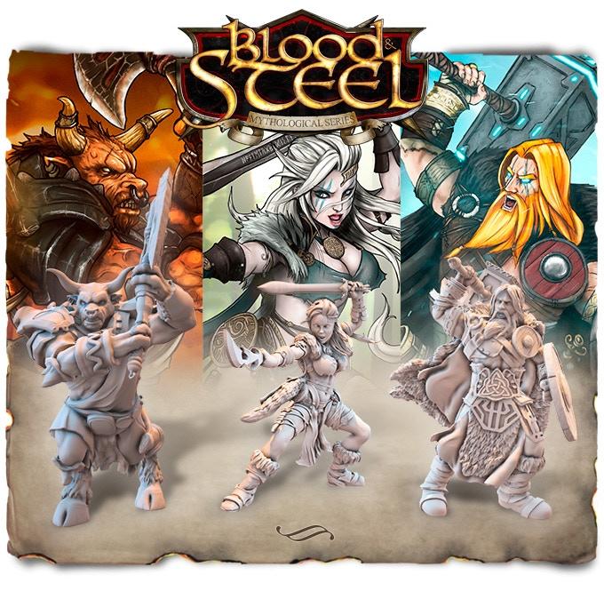 Blood&Steel - BoardGame