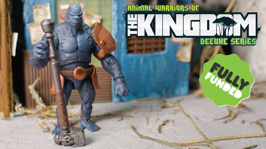 Animal Warriors of the Kingdom Deluxe Action Figures! project video thumbnail