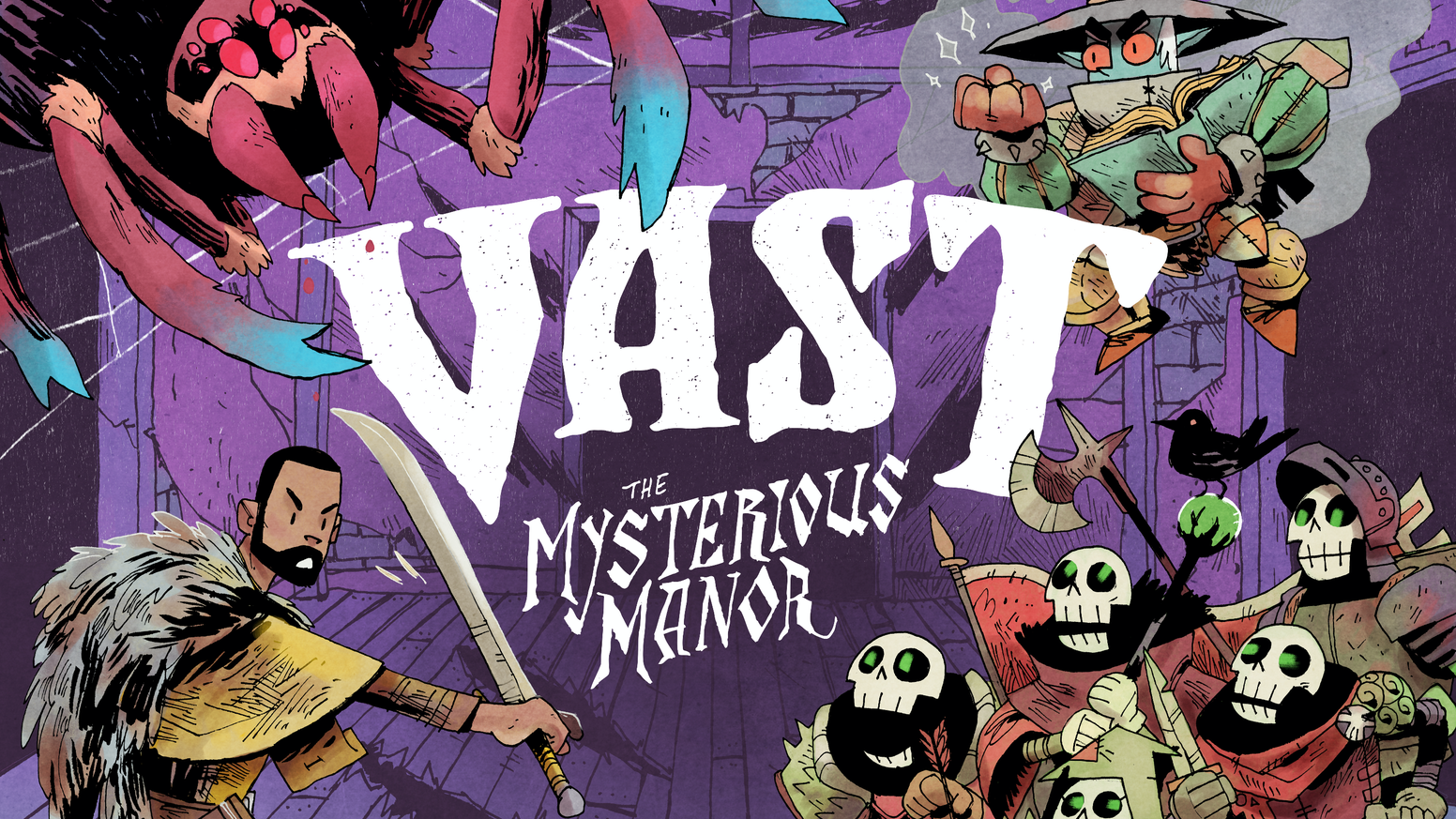 Vast: The Mysterious Manor is the top crowdfunding project launched today. Vast: The Mysterious Manor raised over $416186 from 4287 backers. Other top projects include Heroes of Land, Air & Sea: Pestilence + HLAS 2nd Printing, Temtem - Massively multiplayer creature-collection adventure, Solidteknics iron skillet: wrought not cast: lighter,tougher...