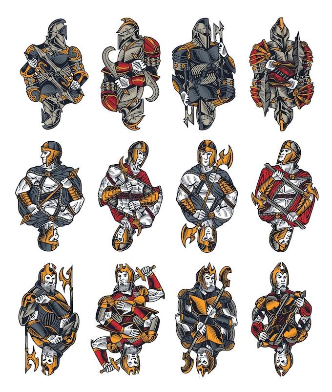 Royal Court Illustrations