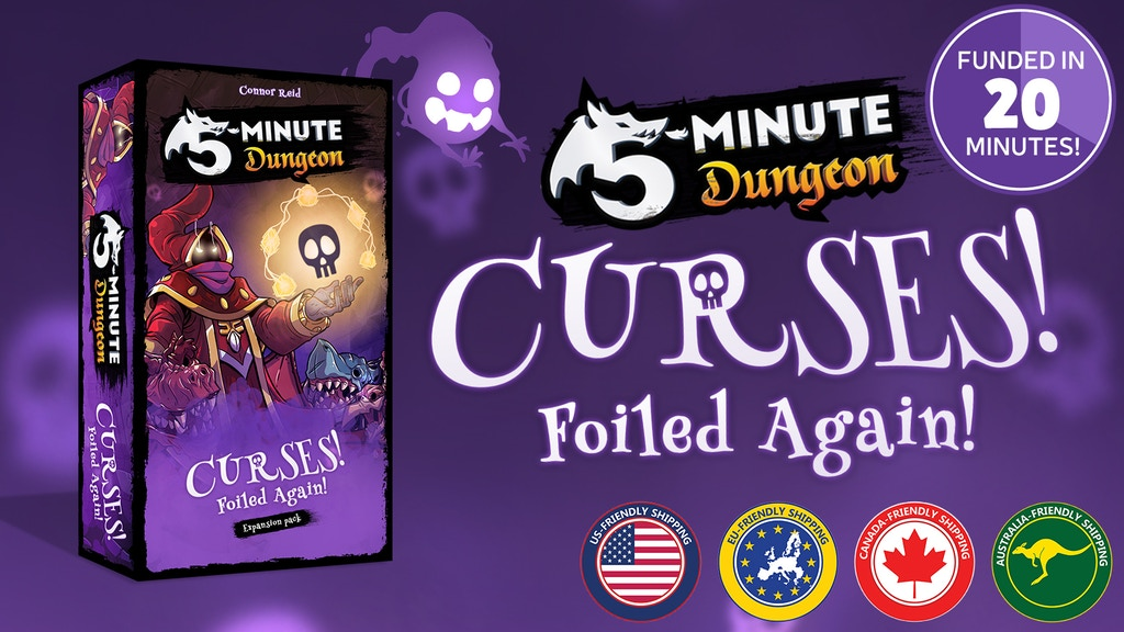 5-Minute Dungeon: Curses! Foiled Again! Expansion project video thumbnail