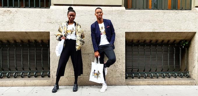 Photo by Tanguy Ekoué. Models: Ella & Abdul