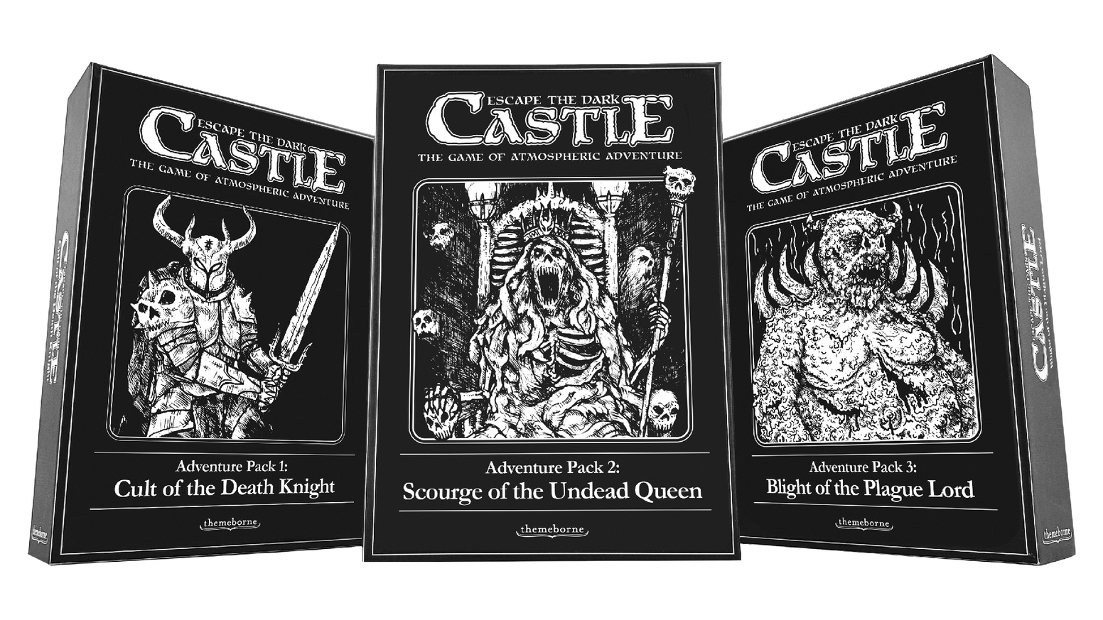 Three new expansions for Escape the Dark Castle, and a second chance to get the original game.