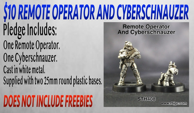 $10 REMOTE OPERATOR AND CYBERSCHNAUZER PLEDGE