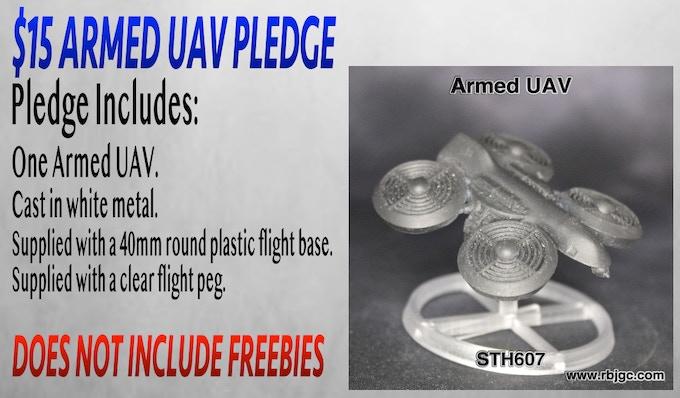 $15 ARMED UAV PLEDGE